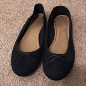 Navy Blue Old Navy Flats with Bow